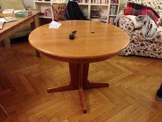 Stół, okrągły, rozkładany