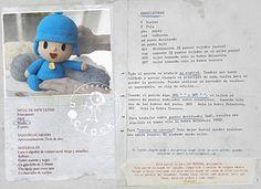 Best 12 mit Fertigkeit A: Pocoyo-Muster mit Fertigkeit A: Pocoyo-Muster con A de artesanía: Patrón Pocoyó Source by lalashead – SkillOfKing. Crochet Doll Pattern, Crochet Toys, Free Crochet, Crochet Patterns, Crochet Ideas, Cute Sheep, Crochet Keychain, Crochet Fashion, Beautiful Crochet