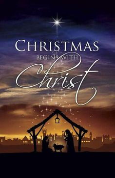 For unto you is born this day in the city of David a Saviour, which is Christ the Lord. Luke 2:11 Merry Christmas to all my friends & family