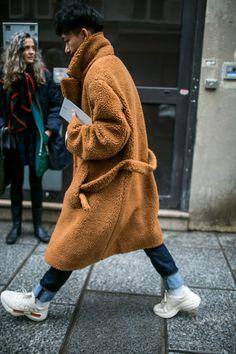 Street style at Paris Fashion Week Men's Fall 2018 #MensFashionAsian