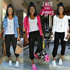 How to wear jogger pants -- 3 Casual Ways to Wear Joggers