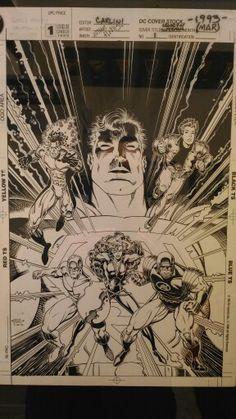 Arthur Adams. Original artwork.