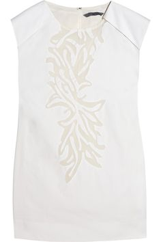 Maiyet|Cutout cotton and voile top|NET-A-PORTER.COM