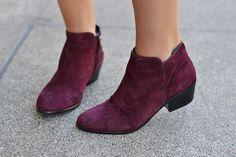 Sam Edelman Petty Burgundy Boots