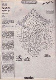 Kira scheme crochet: Scheme crochet no. 909