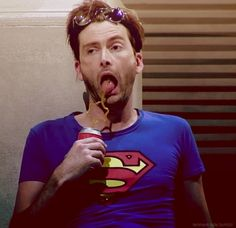 david tennant in one of my favorite scenes in much ado about nothing.