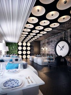Фото — Ресторан Р — Дизайн интерьеров = Photo - Restaurant R - Design Interior: