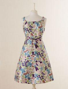Fifties Party Dress Blue
