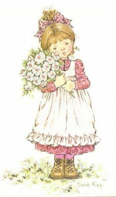 printable sarah kay coloring pages Sarah Key, Holly Hobbie, Hobbies To Try, Hobbies For Women, Cute Images, Cute Pictures, Mary May, Decoupage, Illustrations Vintage