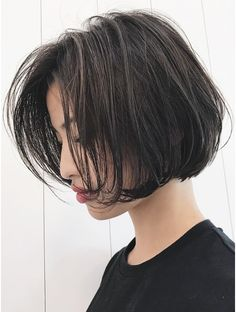 Back To School Hairstyles, Short Hairstyles For Women, Bob Hairstyles, Asian Bob, Asian Short Hair, Great Hair, Hair Highlights, Pixies, My Hair