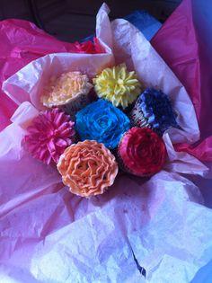 Cupcake bouquet x