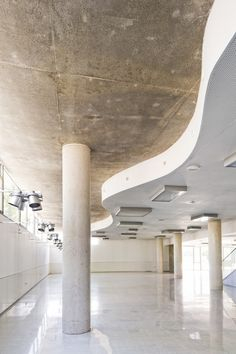 Image 18 of 26 from gallery of Cultural and Social Center in Carrús / Julio Sagasta + Fuster Arquitectos. Photograph by Bruno Almela Alicante, Commercial Interiors, Culture, Spain, Gallery, Cultural Center, Get A Life, Architects, Roof Rack