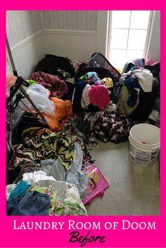 Laundry Room of Doom Before 1