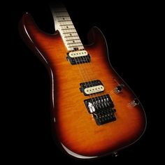 Charvel Pro Mod Series San Dimas 2H FR Electric Guitar Tobacco Burst