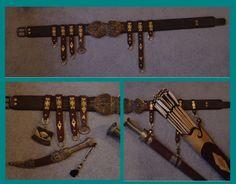 Bau von Pfeil und Bogenköcher nach mongolischer Art - LarpeR