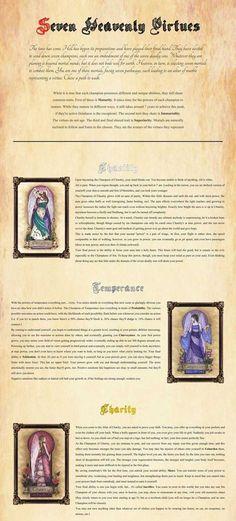 7 heavenly virtues imgur