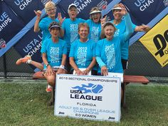 2015 Adult 65 & Over 8.0 Womens Champions - Pinellas