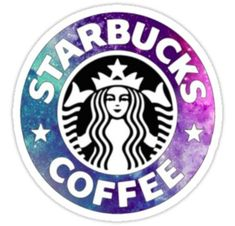 'Starbucks' Sticker by Wallpaper Tumblr Pc, Graffiti Wallpaper Iphone, Wallpaper Iphone Cute, Cute Wallpapers, Starbucks Shirt, Pink Starbucks, Tumblr Stickers, Cute Stickers, Logo Sticker