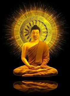 Calm Buddha Painting, Buddha Art, Buddha Statues, Bonheur Simple, Lotus Sutra, Buddha Quotes Inspirational, Pearl Steven, Gautama Buddha, Meditation Music