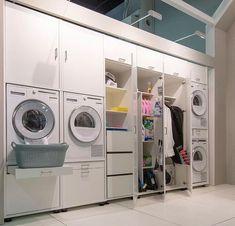 Op zoek naar een mooie opbergkast voor je wasmachine en wasdroger? De kasten van Wastoren bieden hiervoor de perfecte oplossing.  #wastoren #bijkeuken #washok #inspiratie #wassen #drogen #opbergen #laundry #interieurinspiratie #webshop Mudroom Laundry Room, Laundry Room Layouts, Laundry Room Remodel, Small Toilet Room, Drying Room, Modern Laundry Rooms, Laundry Room Inspiration, Toilet Design, Room Closet