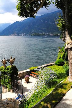 Lake Como, Italy where grand daddy was born.