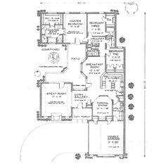 Courtyard House Plans House Plans And Courtyard House On