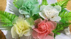 Vegetable Art In Rose - Radish Design In to flower & Ornament
