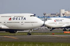 N675NW B747 Delta & other noses