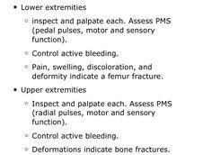 Focused History  Physical Exam  Trauma Patient  Rapid
