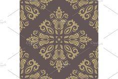 Damask Patterns, Arabesque, Vector Pattern, Abstract Backgrounds, Louis Vuitton Monogram, Oriental, Floral, Flowers, Flower