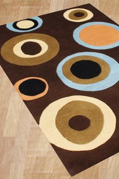 Love!! Potential bedroom rug! :)