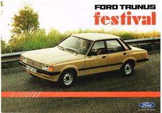 Ford Taunus Festival  Prospekt