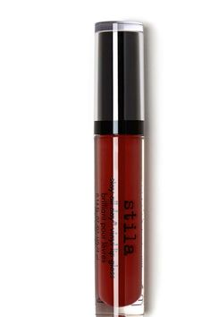 Check out Stay All Day Vinyl Lip Gloss from Stila...Scarlet Vinyl (Brick Red)
