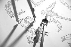 Typeformers - Robots in design by Chaithawat Dongcharoaen, via Behance