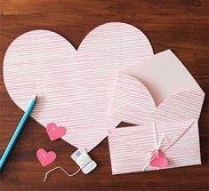 Como hacer cartas romanticas para san Valentin rapidamente y facil ~ Solountip.com