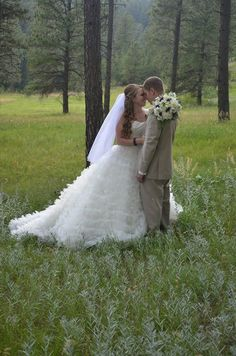 Abby and Mike - bride and groom