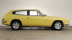 Reliant Scimitar GTE. Couldn't rust (that was the only advantage)