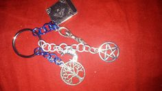 Hey, I found this really awesome Etsy listing at https://www.etsy.com/listing/201732991/handmade-chainmaille-keychain-with-pagan