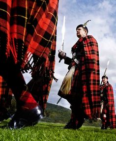 "The mission of the Lonach Highland & Friendly Society includes preserving Highland dress and promoting ""peaceable and manly conduct."" Each summer since 1823, the group has held a ""gathering,"" a march through the towns around Strathdon in eastern Scotland, culminating in an afternoon of traditional Scottish games."