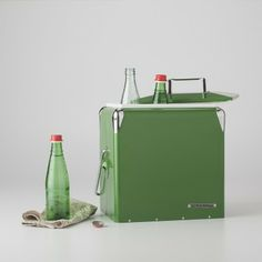 Schoolhouse Electric Tallboy Cooler | Domestic Utility | Kelly Green Cooler