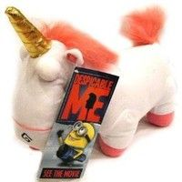 Despicable Me Unicorn Plush.. IT'S SO FLUFFY I COULD DIE!
