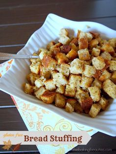 Gluten Free Bread Stuffing | The Baking Beauties