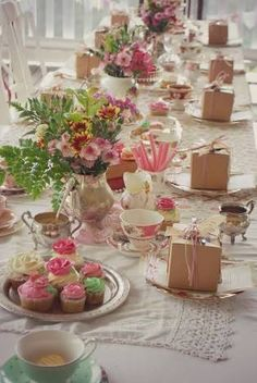 Image result for high tea table setting