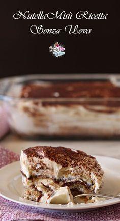 NUTELLAMISU' SENZA UOVA facile e cremosissimo #ricetta #food #tiramisù