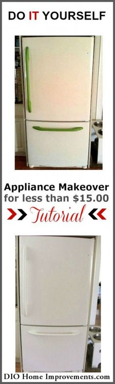 Painting An Appliance - DIO Home Improvements