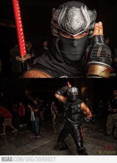 Awesome Ninja Gaiden Cosplay