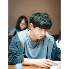 Chanyeol at the script reading of Memories of the Alhambra Park Chanyeol Exo, Exo Chanyeol, Kyungsoo, Chansoo, Chanbaek, Exo Awards, Kai, Rapper, Exo Group