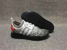 new style 313e1 ca645 High Quality Adidas Runner Primeknit Safari White Black Red 2018 Online,  How To Buy Official Adidas NMD Sale