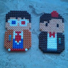 Doctor Who hama beads by itslittlelaura