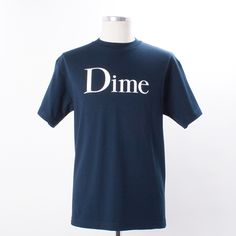 Dime Classic T-Shirt - Classic logo T-Shirt from Montreal's skate brand, Dime.An instant classic indeed.